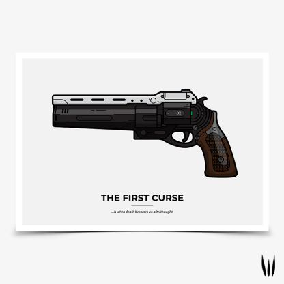 Destiny The First Curse gaming poster designed by WildeThang