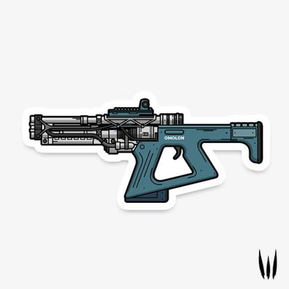 Destiny 2 Erentil fusion rifle vinyl sticker designed by WildeThang