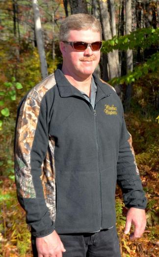 Windham Weaponry Black & Camo Fleece Jacket - for Men