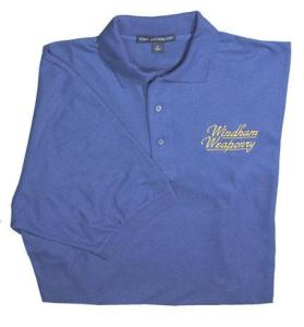 The Windham Weaponry Men's Blue Polo Shirt
