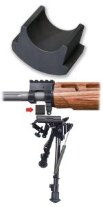 BiPod Adapter for Windham Wood Stocked Rifles