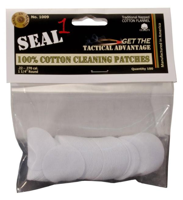 SEAL 1 100% Cotton Flannel Bore Cleaning Patches