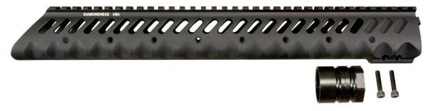 Diamondhead VRS-T 13.5in Free Floating Handguard for AR15 / M16