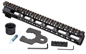 Midwest Industries SSK Key Mod 12 inch One Piece Handguard for AR15 / M16