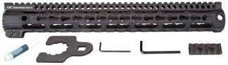 Midwest Industries Key Mod 15 inch One Piece Handguard for .308 AR10 platform rifles