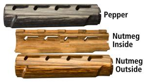 Laminated Hardwood 2 Piece Mid-Length Forend for AR15 / M16