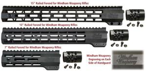 Windham Weaponry Free-Floating Railed Handguard for Aluminum Receiver Rifles