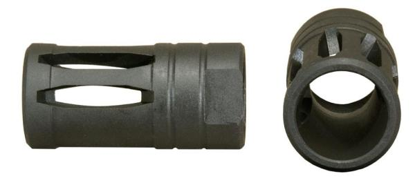 """Windham Weaponry .450 Bushmaster A2 Style Flash Hider 11/16"""" x 24 T.P.I."""