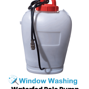 Window Cleaning Equipment 15 Litre Electric Mobile Window Cleaning Waterfed Pole Pump