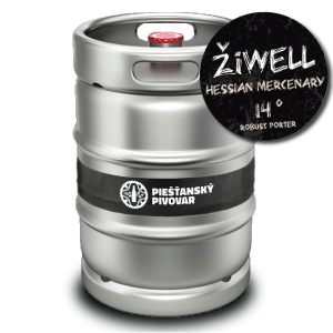 ŽiWELL Hessian Mercenary Robust Porter