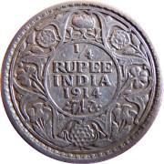 1914-quarter-rupee-king-george-v-2