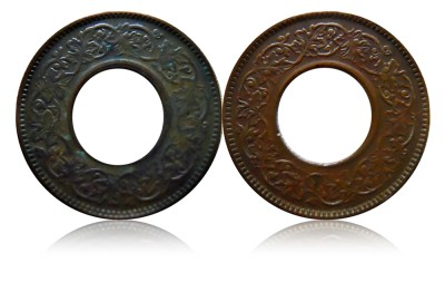 1943 Big & Small 1 Pice variety Collection - Worth Buying -2 coins