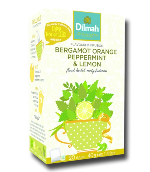 Dilmah Bergamot Orange Peppermint Lemon