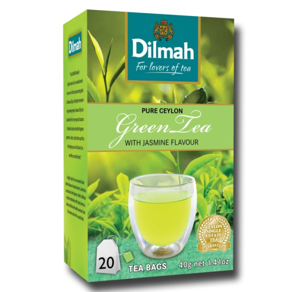Dilmah Green Tea with Moroccan Jasmine