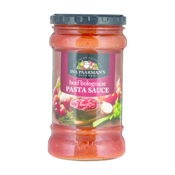 Ina Paarman Pasta Sauce Beef Bolognaise 400g