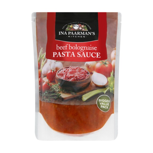 Ina Paarman Pasta Sauce Beef Bolognaise 600g