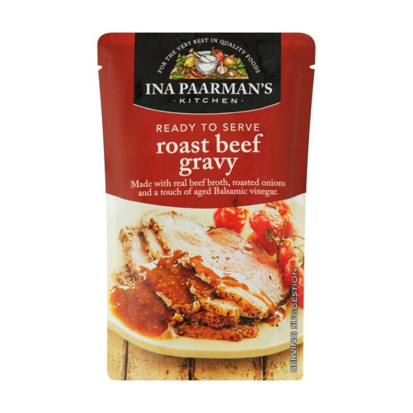 Ina Paarman Ready To Serve Sauce Roast Beef Gravy 200g