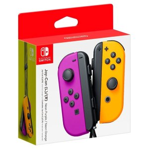Nintendo Joy-Con Set Purple/Neon Orange
