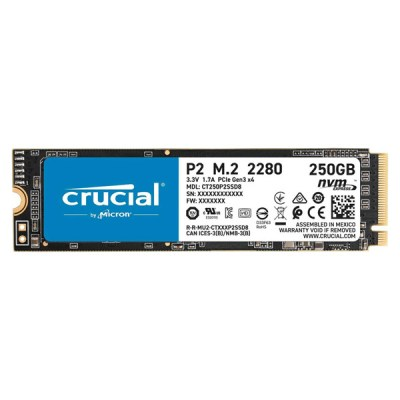 Crucial P2 SSD 250GB M.2 NVMe