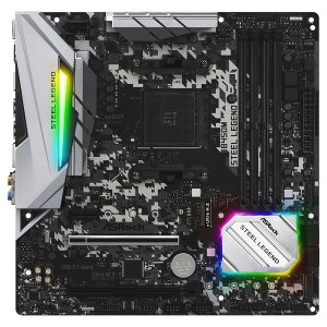 Asrock B450M Steel Legend Motherboard Micro ATX με AMD AM4 Socket