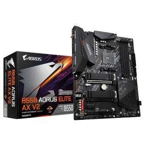 Gigabyte B550 Aorus Elite AX V2 (rev. 1.0) Motherboard ATX με AMD AM4 Socket