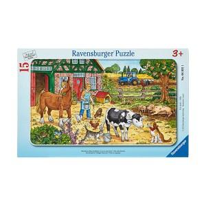Happy Farm 15pcs Ravensburger (εως 36 Δόσεις)