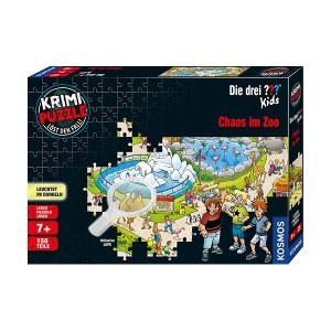 Crime Puzzle Chaos in the Zoo 150pcs Kosmos (εως 36 Δόσεις)