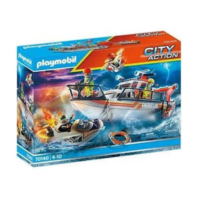 Playmobil City Action: Fire Rescue with Personal Watercraft (εως 36 δόσεις)