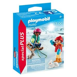 Playmobil Special Plus: Children with Sleigh (εως 36 δόσεις)