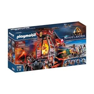 Playmobil Novel More: Knights Burnham Raiders Lava Mine (εως 36 δόσεις)