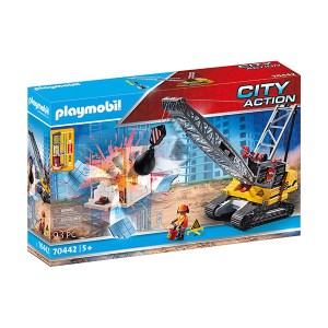 Playmobil City Action: Cable Excavator with Building Section (εως 36 δόσεις)