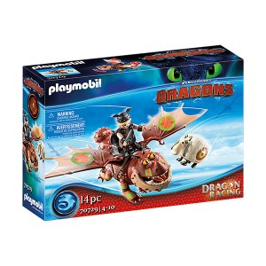 Playmobil Dragons: Λέπιας και Χοντροκέφαλος (εως 36 δόσεις)