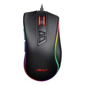 Inter-Tech Nitrox GT-300+ RGB Gaming Ποντίκι Μαύρο (εως 36 Δόσεις)