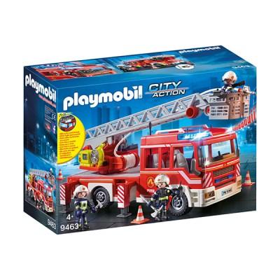 Playmobil City Action: Όχημα Πυροσβεστικής με Σκάλα και Καλάθι Διάσωσης (εως 36 δόσεις)