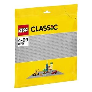 Lego Grey Baseplate (εως 36 Δόσεις)