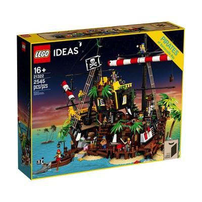 Lego Ideas: Pirates Barracuda Bay (εως 36 Δόσεις)