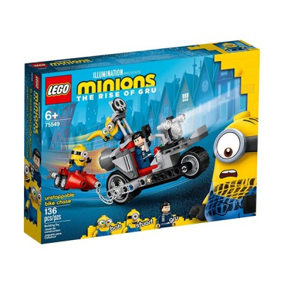 Lego Unstoppable Bike Chase (εως 36 Δόσεις)