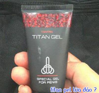 titan gel lừa đảo