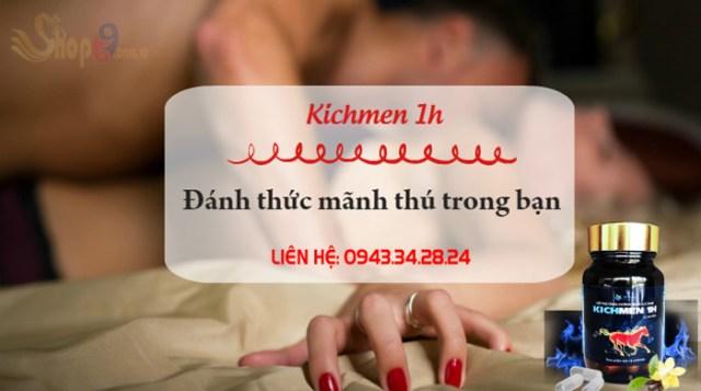 lưu ý khi sử dụng kichmen 1h