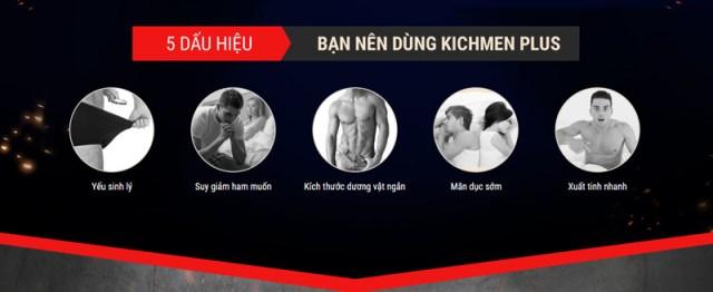 đối tượng nên sử dụng kichmen plus