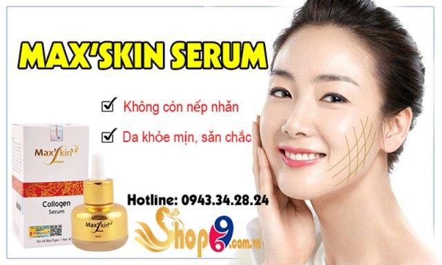 công dụng max'skin serum