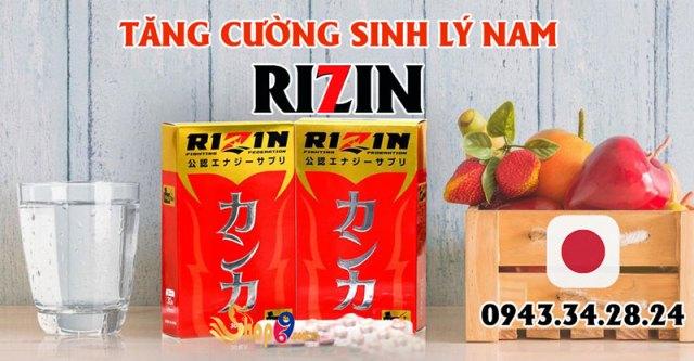 đối tượng sử dụng rizin