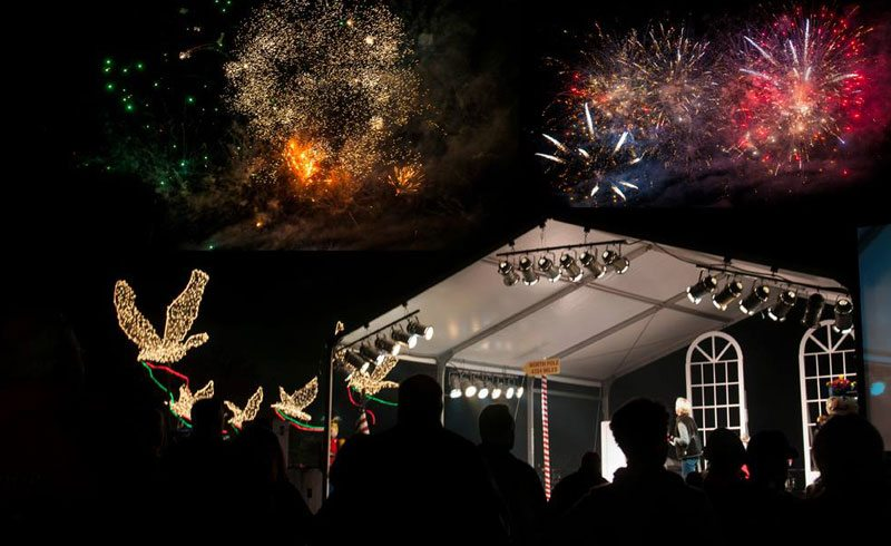 lighting of the doves the woodlands