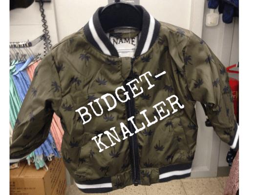 BUDGET-KNALLER