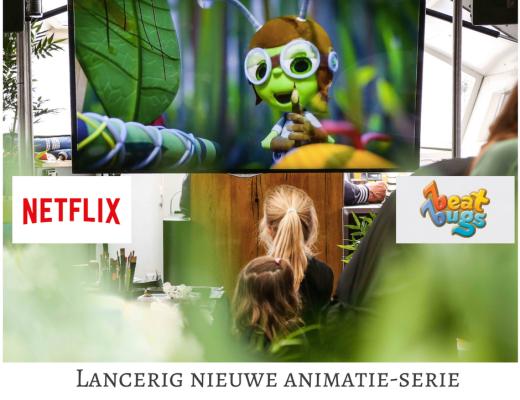 Lancerig nieuwe animatie-serie