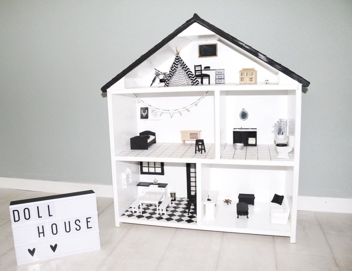 Poppenhuis / Dollhouse make-over