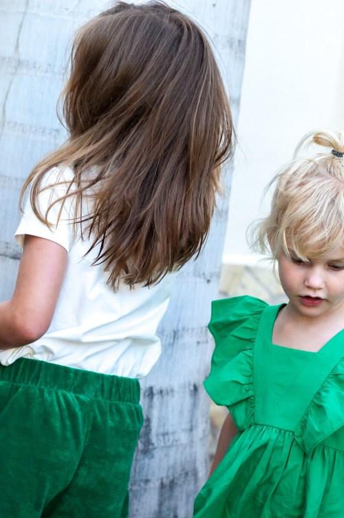 Twee keer een groene budget outfit