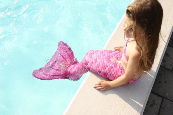 Zwemmen met een zeemeerminstaart