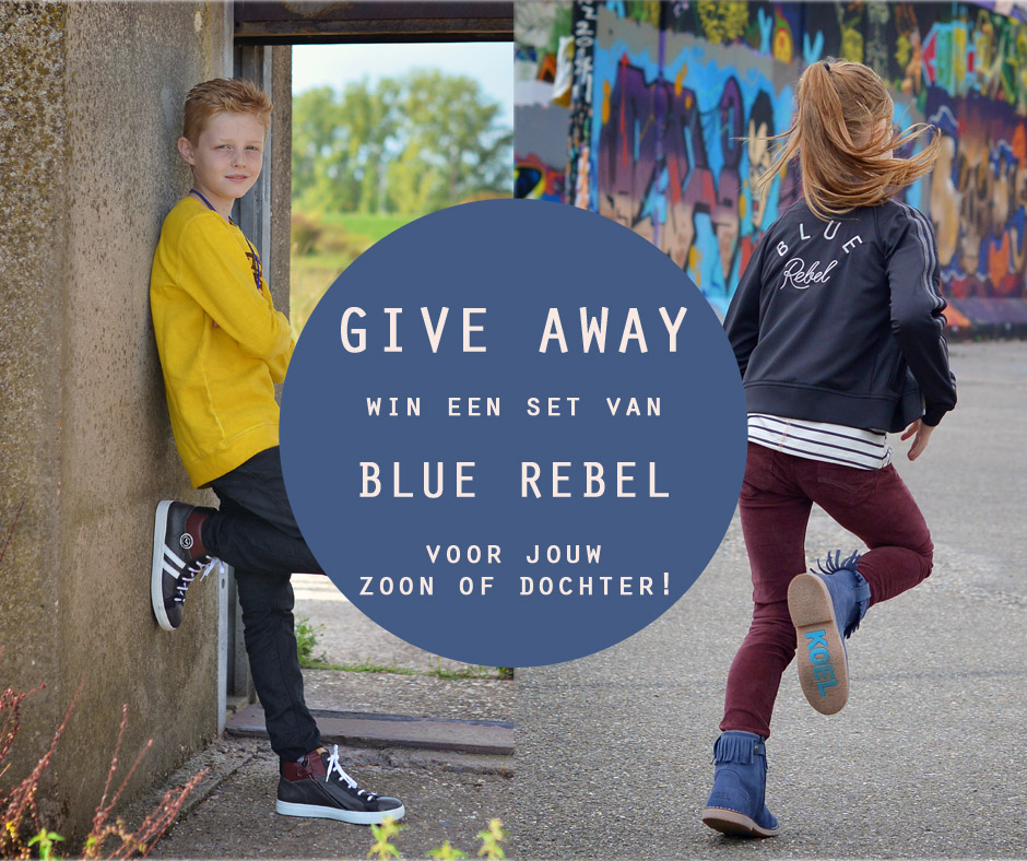 GIVE AWAY! Win een van deze outfits van Blue Rebel!