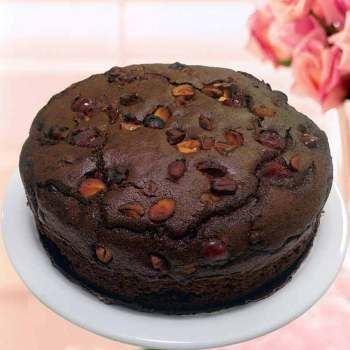 Breads & Cakes Dry Chocolate Cashew Cake [tag]